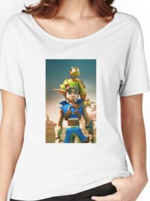 Jak and Daxter cover Women's Relaxed Fit T-Shirt