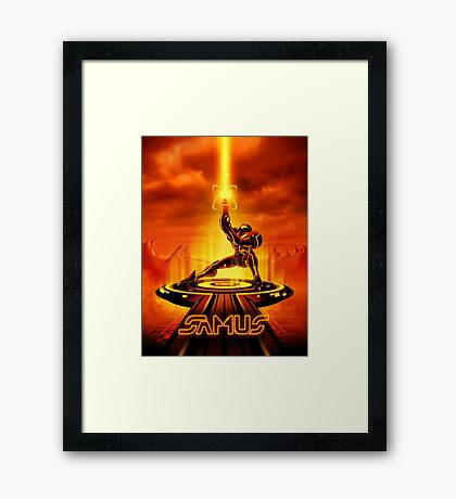 SAMTRON - Movie Poster Edition Framed Print