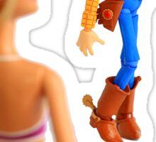 Woody sneaky peek Sticker