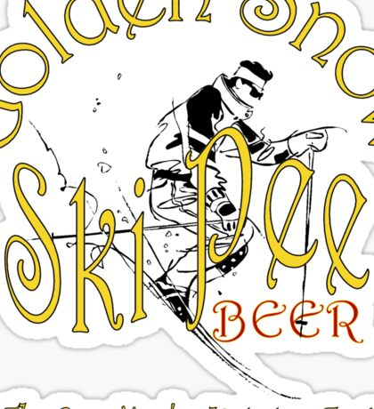 SkiPee Beer II Sticker