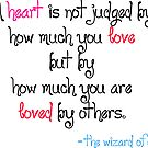A heart is not judged... by Jayca