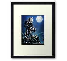Starlight Knight Framed Print