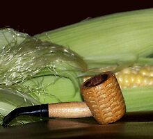 Corn Cob Pipe by Penny Odom