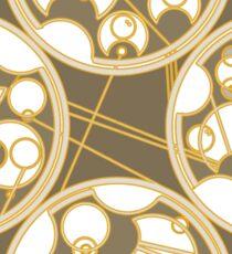 Tick-Tock Poem in Circular Gallifreyan Sticker
