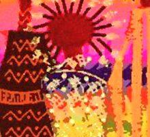 Hawaiian Sisters T-Shirt Sticker