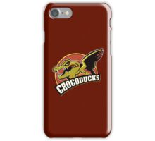 Crocoducks iPhone Case/Skin
