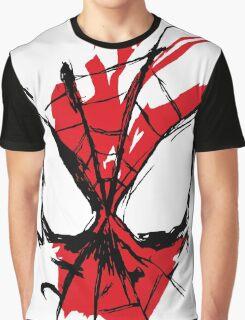 Spiderman Splatter Graphic T-Shirt