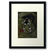 Queen of the Nightosphere Framed Print