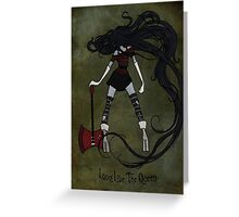 Queen of the Nightosphere Greeting Card