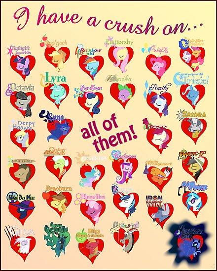 I have a crush on... all of them! - 3 by Stinkehund