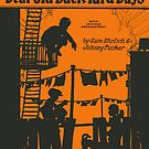 DEAR OLD BACK YARD DAYS (vintage illustration) by ART INSPIRED BY MUSIC