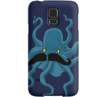 Octopus with a Mustache Samsung Galaxy Case/Skin