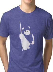 Ewok Silhouette (Black) Tri-blend T-Shirt