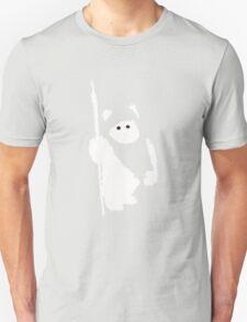Ewok Silhouette (Black) Unisex T-Shirt