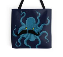 Octopus with a Mustache Tote Bag