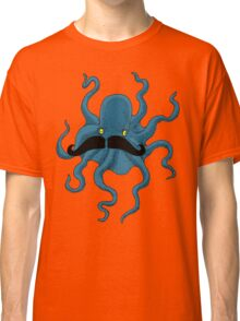 Octopus with a Mustache Classic T-Shirt