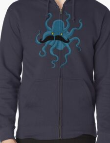 Octopus with a Mustache T-Shirt