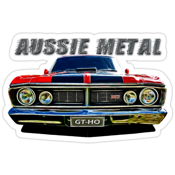 Aussie Metal Ford GTHO by Clintpix