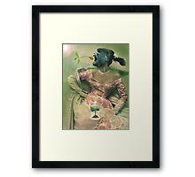 Gorilla . Framed Print