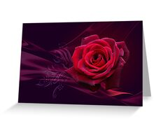 Magical Rose POSTCARD Greeting Card