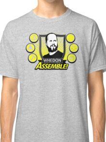 Whedon Assemble Classic T-Shirt