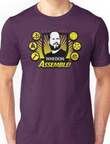 Whedon Assemble Unisex T-Shirt