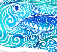 Swirly Shark Sticker