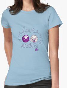 love knitting couple T-Shirt