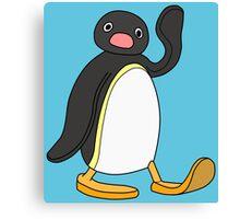 Pingu - Noot Noot. Canvas Print