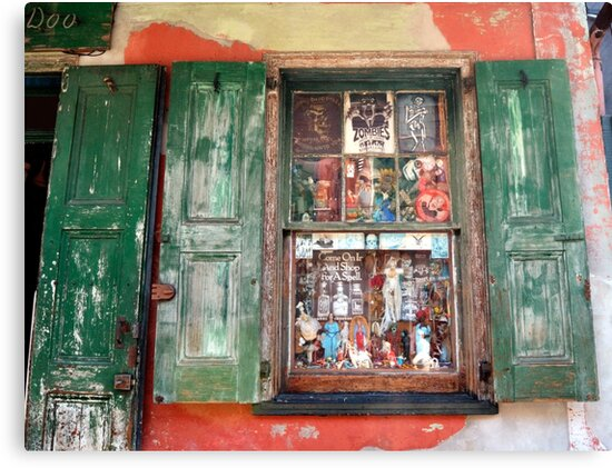 Voodoo Window by Merja Waters