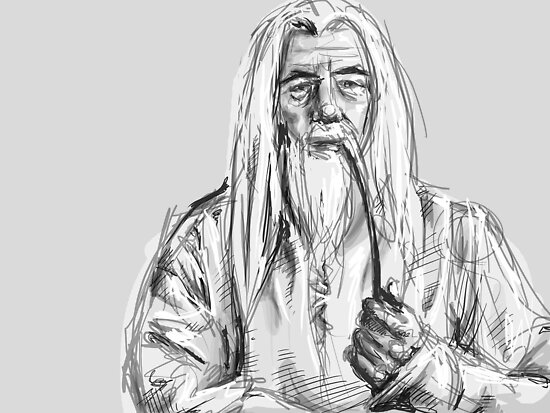 Gandalf by Shelbeawest