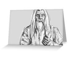 Gandalf Greeting Card