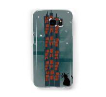 Animal's Nightlife - Urban Cat Samsung Galaxy Case/Skin