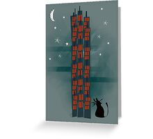 Urban Cat Greeting Card