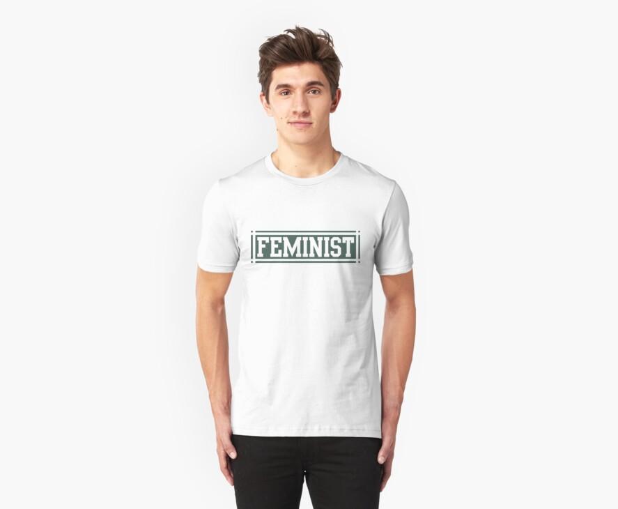 Feminist (Green Version) by dreamorlive