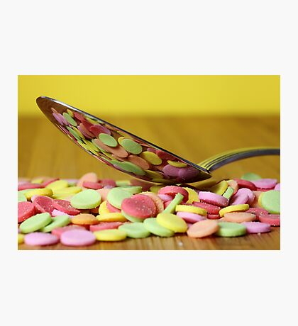 A spoon of sweets Photographic Print