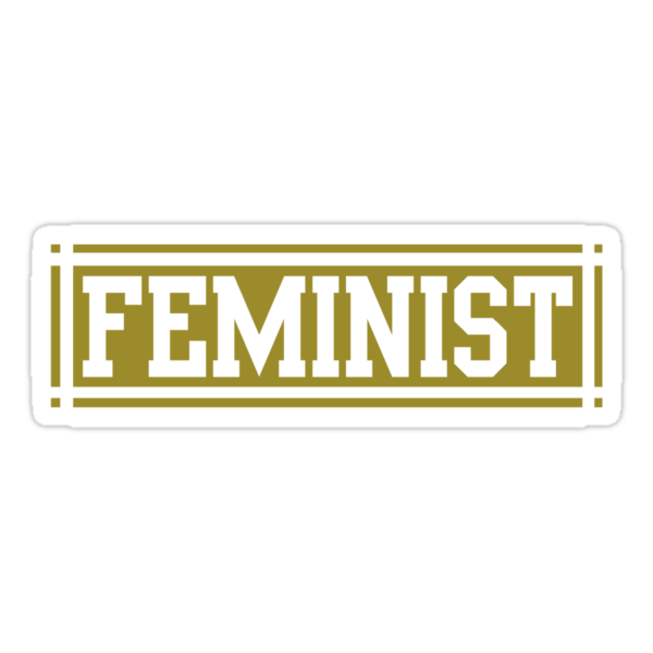 Feminist (Yellow/Gold Version) by dreamorlive