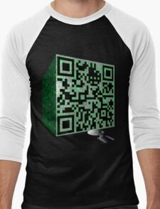 You Will Be Assimilated Men's Baseball ¾ T-Shirt