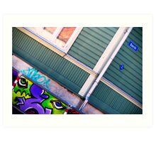 Affiti Art Print