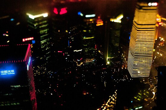 Shanghai at Night by Matthew Walters