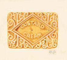 Custard Cream by Hannah Dosanjh