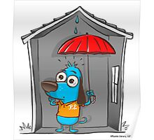 Umbrella Superstition Poster