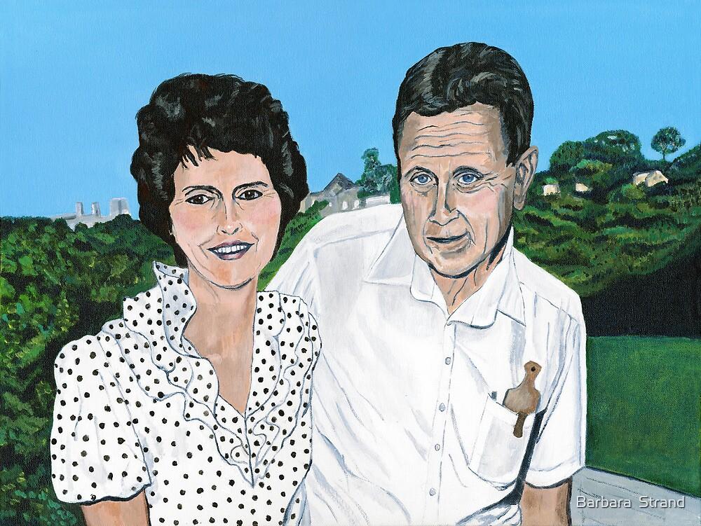 Arlene and Neall in Australia by Barbara  Strand