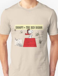 snoopy vs the red baron T-Shirt