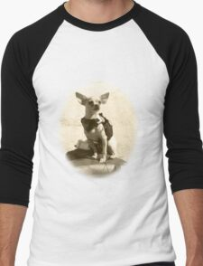 Chihuahua and the Kayak Adventure Men's Baseball ¾ T-Shirt