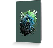 Chrysalis, Queen of the Changelings Greeting Card