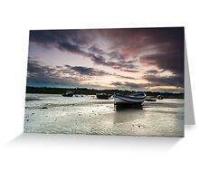 Boats of Alnmouth Greeting Card