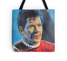 Shatner as Kirk in colored pencil  Tote Bag