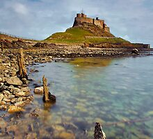 Lindisfarne Castle, Holy Island Northumberland by Martin Lawrence