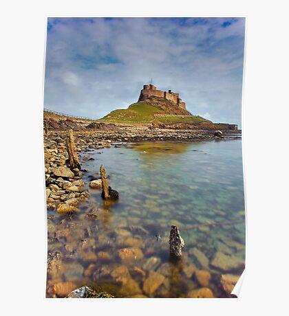 Lindisfarne Castle, Holy Island Northumberland Poster